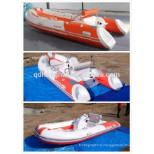 china inflatable RIB new fiberglass boat