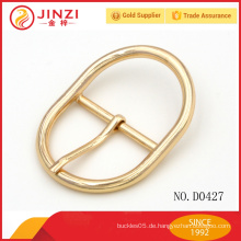 Großhandel Polygon Zince Legierung Gold dekorative Vorhang Schnalle D0427