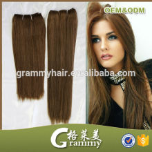 2016 high quality 8a grade shedding free thick bottom dark brown indian temple raw indian hair directly from india