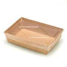 envases de papel para llevar lonchera_fiambrera plegable de papel_envases de alimentos desechables cajas de papel de envases biodegradables