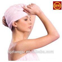 Cotton Terry Toweling Spa Hair drying towel turban towels wrap