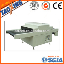 uv curing machine in dry oven