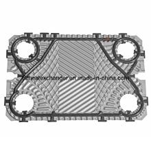 Placa de acero inoxidable para intercambiador de calor de enfriamiento de aceite (igual a TS20)