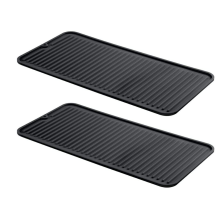Rased Edges Silicone Dish Drying Mats
