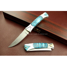 420 faca dobrável do aço inoxidável (SE-G2167)