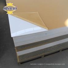 Usine de surface solide directe en gros moderne verre acrylique feuille en plastique
