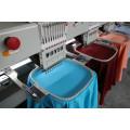 Alta velocidad de 8 cabezales de 15 colores máquina de bordado computarizado Wy1508c