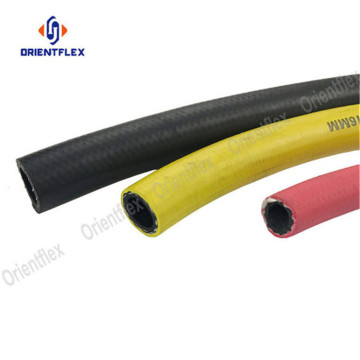 Red air compressor hoses air hose reel