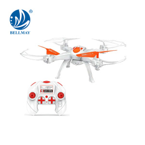 2.4 GHz 6 Channel 6 Axis Gyroscope RC Drone Headless Flying Helicopter with Built-in Camera Optional