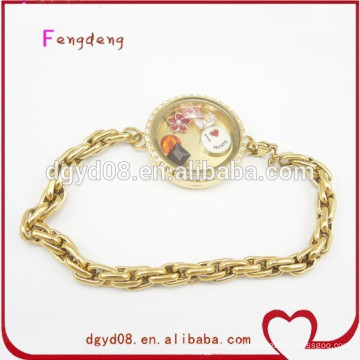 Bracelet magnétique en acier inoxydable Stee 2015