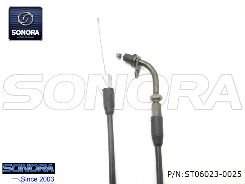 Longjia Scooter JL50QT-2L Throttle cable assy.