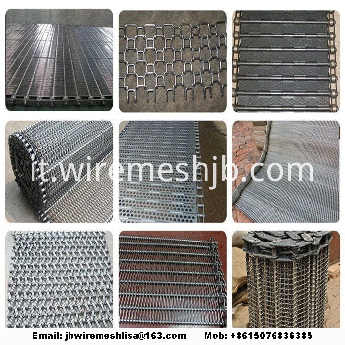 Stainless Steel Wire Mesh Metal Conveyor Belt