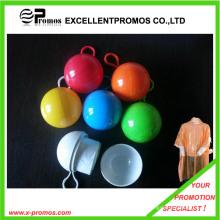 Werbe-Ball geformt Einweg-Poncho (EP-P7154)