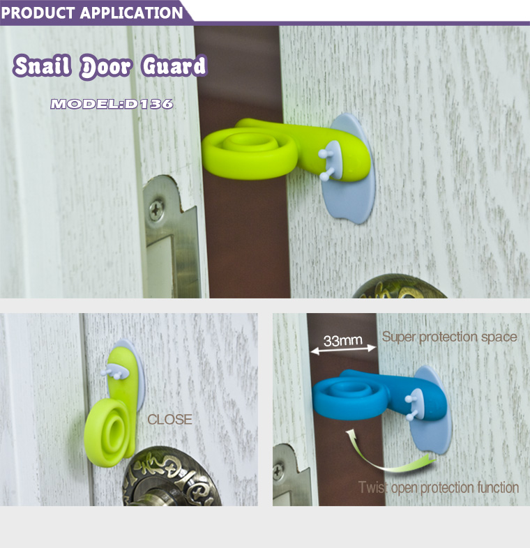 Baby Snail Door Stopper
