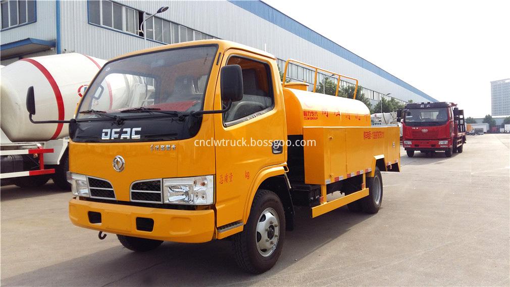 high pressure water truck