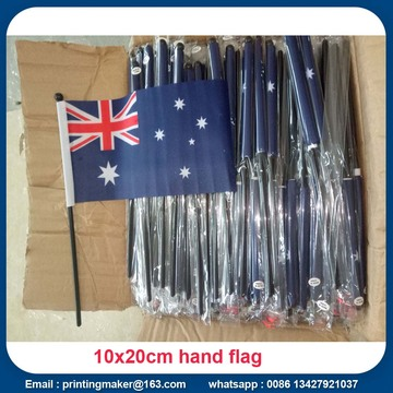 Custom Small Mini Hand Held Waver Flags