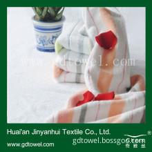 Super Soft Best Quality Baby Bath Towel with Big Stripe Yarn Dyed Design (Y335)