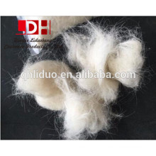Super white scoured goat hair 50-80mm for felt and carpet