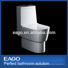 EAGO ceramic P-trap water closet dual flush washdown toilet WA332P