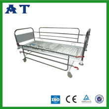Medical Triple-folding bed with new type railings