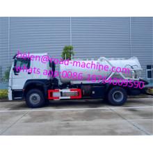 Sinotruk 290hp Italian Vacuum Pump 4x2 Sludge Truck