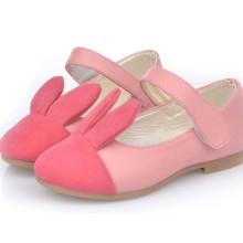 Весна дети девочки кролик мода кожаный принцесса обувь сделано в Китае