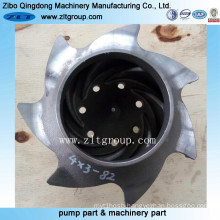 ANSI Chemical Pump /Centrifugal Pump Durco Pump Impeller 4*3-82