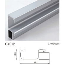 Armario de cocina de aluminio con manijas