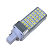 2 broches / 4 broches SMD 5050 lumière de maïs conduit ampoule en aluminium 6w fabriqué en Chine