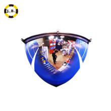 48inch quarter dome mirror 1/4dome 90 degree for warehouse or convenience store surveillance
