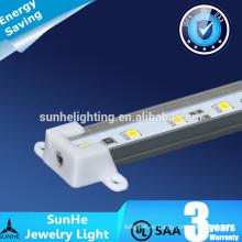 Larga vida llevó joyas luces LED 12 / 24V 150 grados luz del gabinete SMD