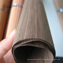 placage de façade en noix noire recon pour meubles