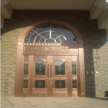 Exterior Security Entrada Principal Pure Copper Doors