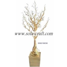 100CM White Crystal Tree Centerpiece For Wedding Table Decoration