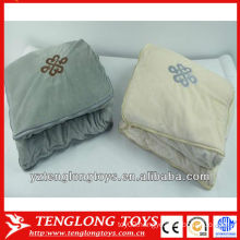 Hot sale cheap popular 2 in 1 pillow blanket for household decoration