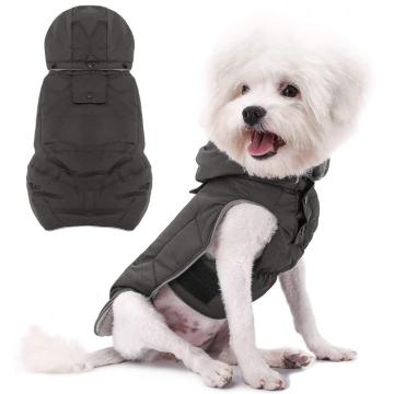 Abrigo cálido de invierno para perros