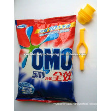 Laminated material OPP/PE Washing detergent packaging bags with Custom printing