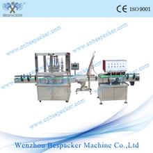 Auto Linear Liquid Small Bottle Filling and Capping Machine