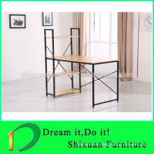 cheap new style wood and metal frame student table