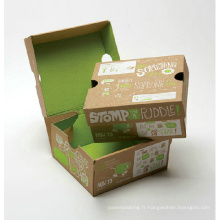 Emballage pliable Boîte en papier cartonné imprimé
