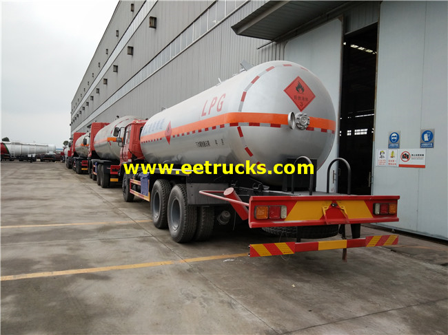 5000 Gallons LPG Delivery Tanker Trucks