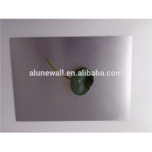 Silber gebürstetes Aluminium-Verbundplatte Blatt für die Wand