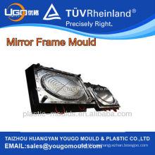 Moldes de marco de espejo de pared oval de inyección de plástico Professiona