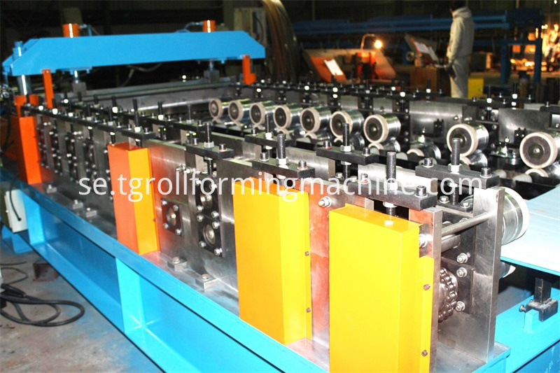 Supermarket Shelf Roll Forming Machine