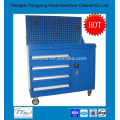 2015 new design OEM custom metal tool cabinet on wheels with drawers