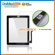 Fábrica precio garantía OK táctil para iPad 4, iPad 4 Touch pantalla digitalizador Asamblea