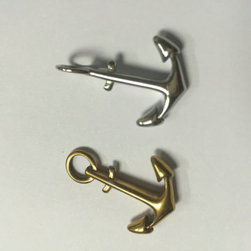 Custom Jewelry Stainless Steel Anchor Charms Fittings