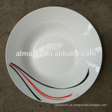 Conjuntos de Jantar de Porcelana / Conjuntos de Jantar de Melhor Qualidade / prato de sopa de cerâmica