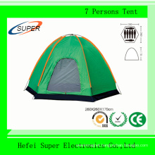 Wholesale (260*260*170) mm 7 Persons Camping Tent for Travel