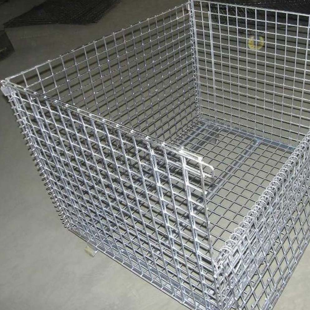High Tensile Strength Wire Mesh Pallet Cage China Manufacturer